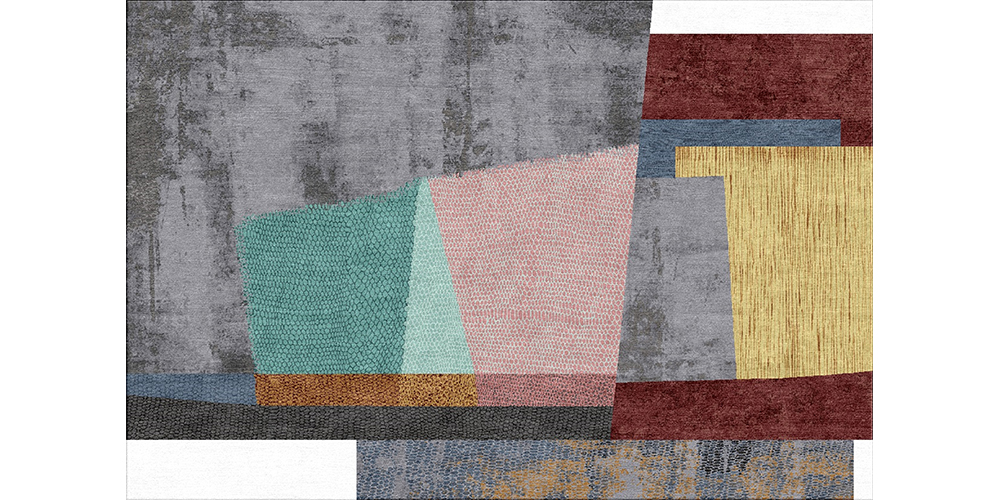 Shortlisted for Category 3: Best Modern Design Deluxe: Strati (detail), Jaipur Rugs