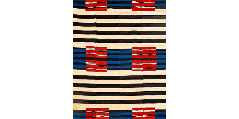 Shortlisted for Category 5: Best Flatweave Design: After Navajo via Bauhaus Baneh (detail), Zollanvari