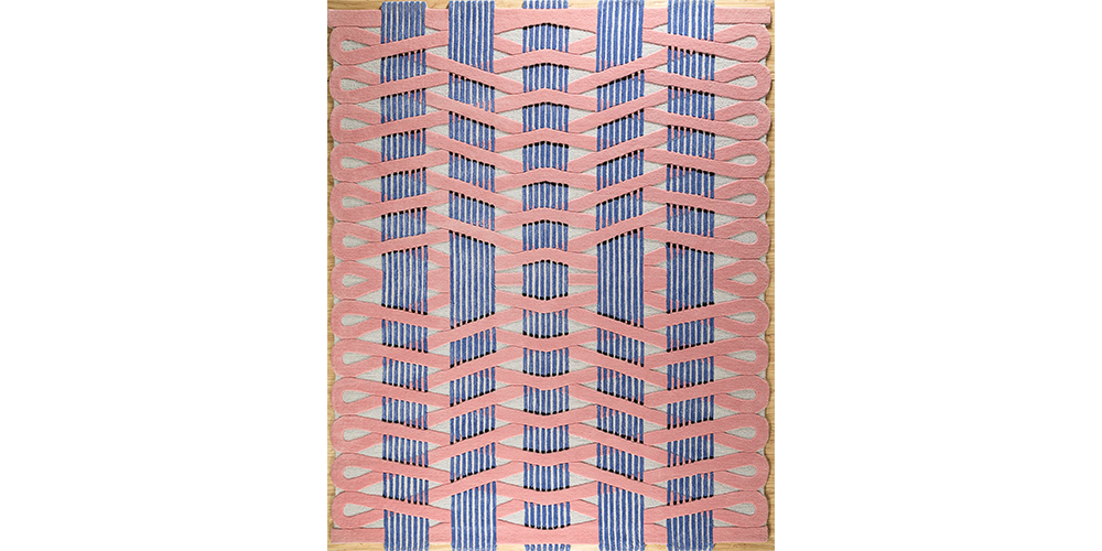 Shortlisted for Category 2: Best Modern Design Superior: Stairmaze (detail), Jaipur Rugs