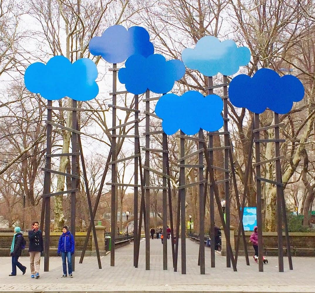 Clouds, Olaf Breuning, Public Art Fund New York City, 2014
