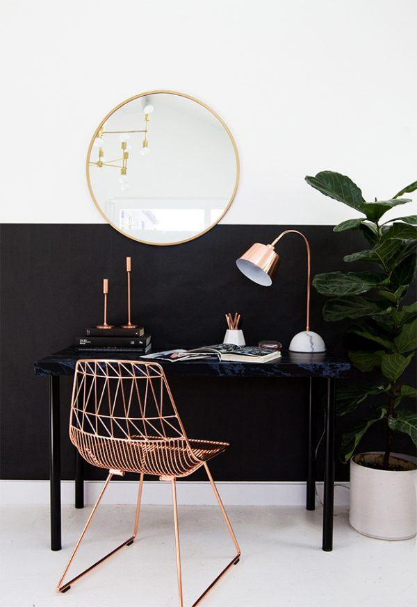HP-black-and-copper-workspace