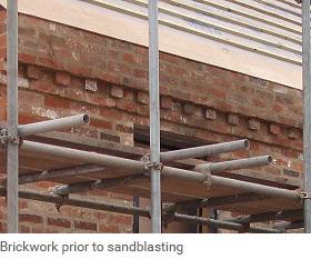 Sand blasting contractor