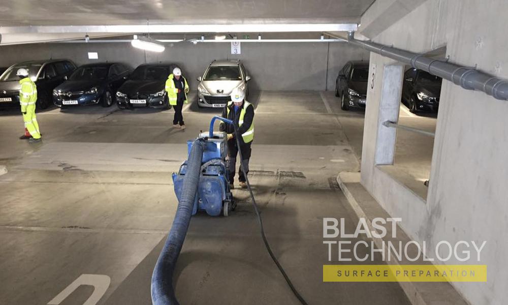 car park floor renovation