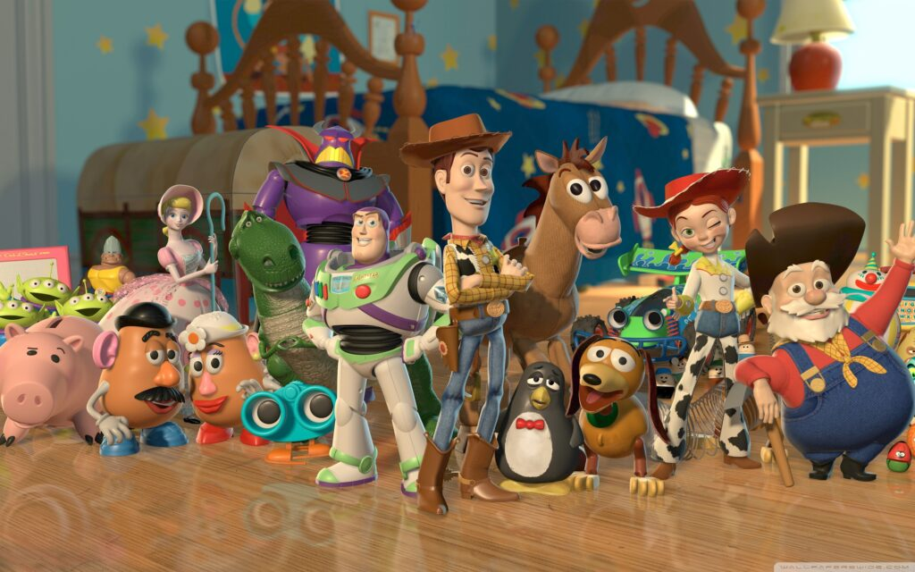 toy story 2 characters wallpaper 2560x1600 1