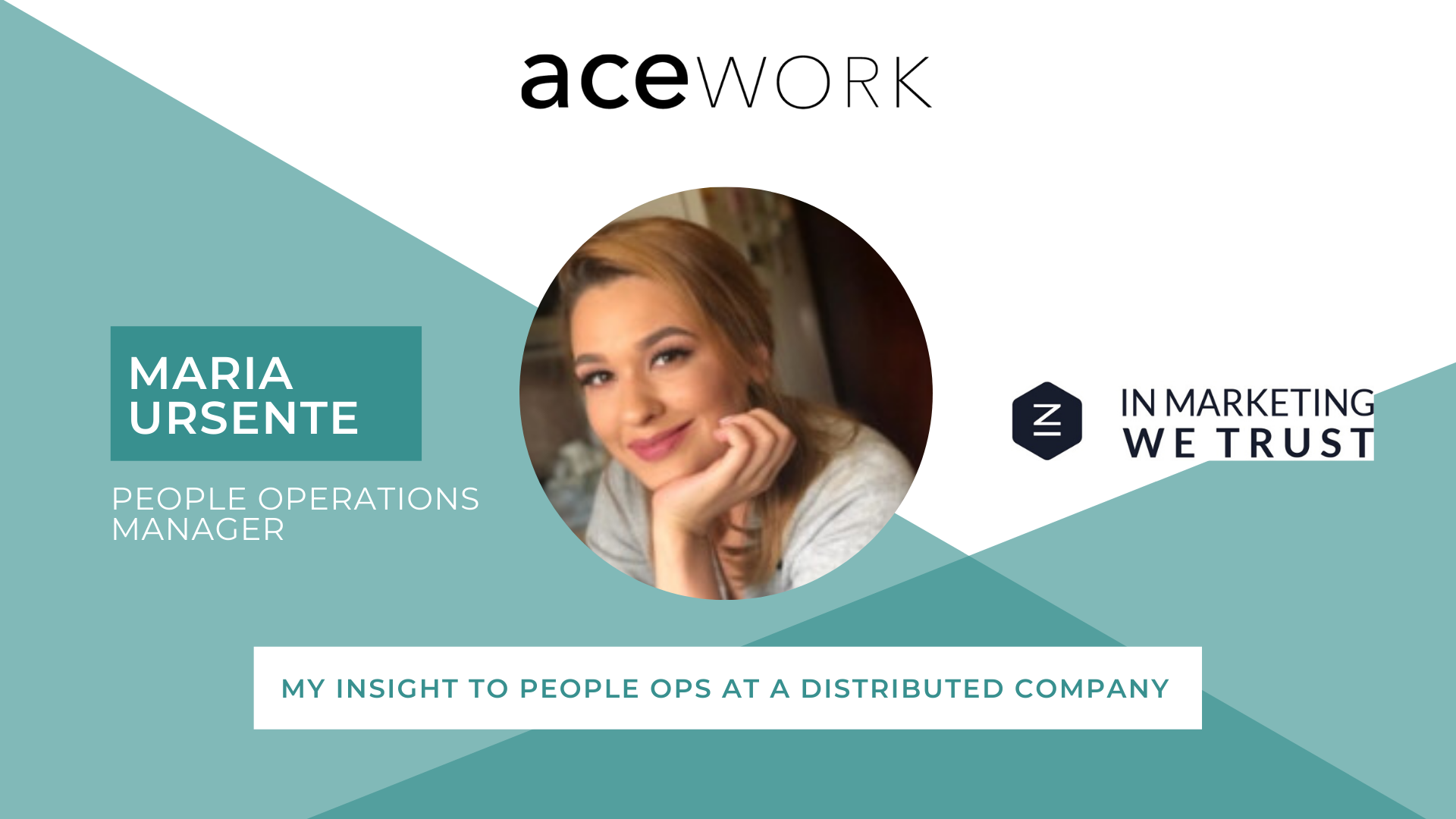 people operations interview maria ursente