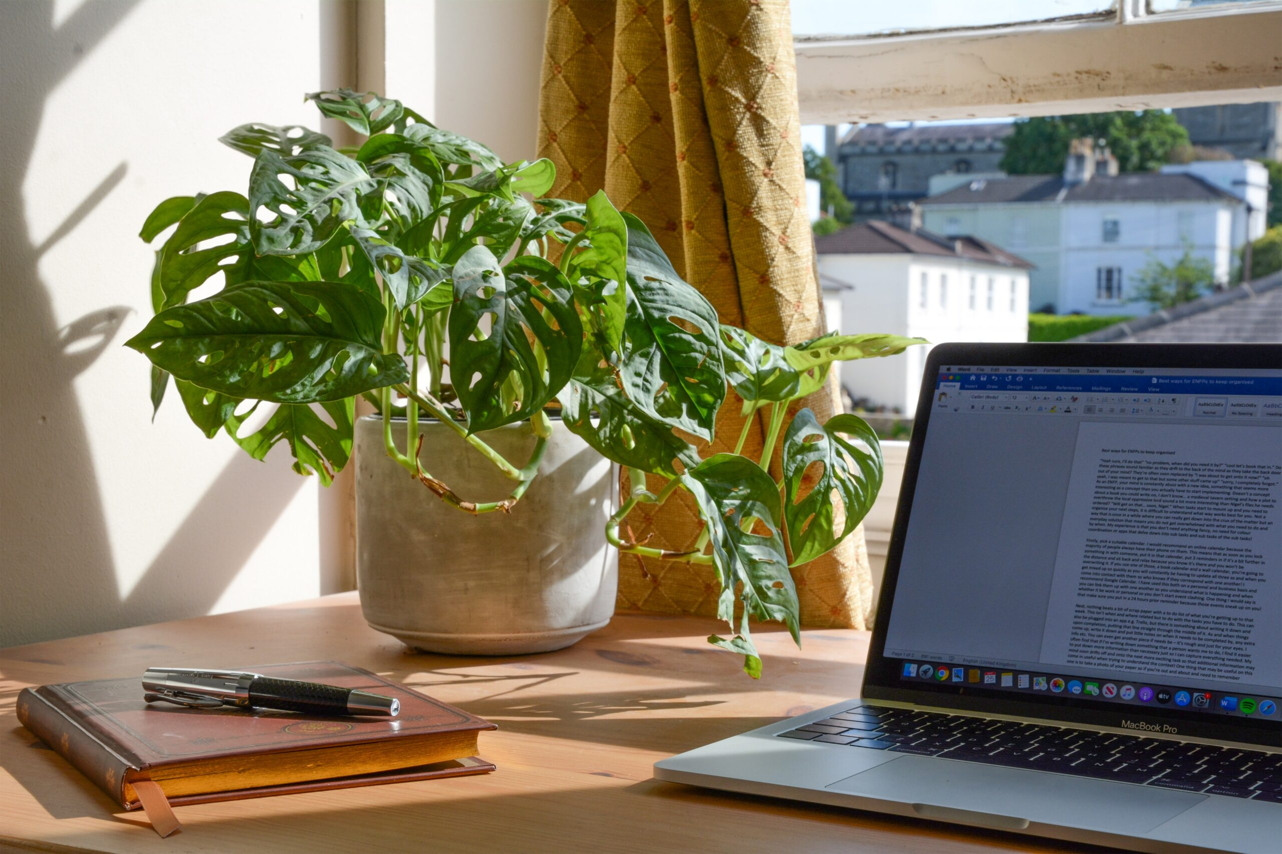ultimate guide to remote work laptop on desk