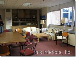 before: Hamilton Wenham Teacher's Lounge