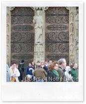 Doors of Notre Dame