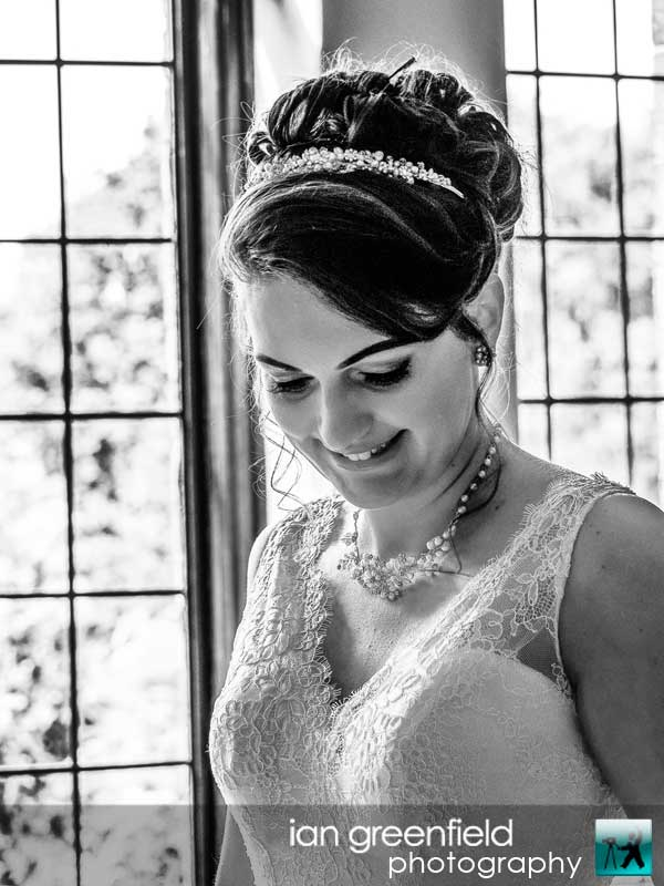 bridal photo,North Yorkshire wedding photography at Aldwark Manor, Bride and groom wedding photographer, aldwark manor photographer, york, ian greenfield photography