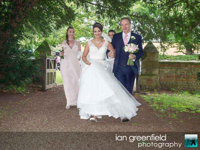 bride and bridesmaids, wedding photographer at Aldwark Manor York, ian greenfield photography,