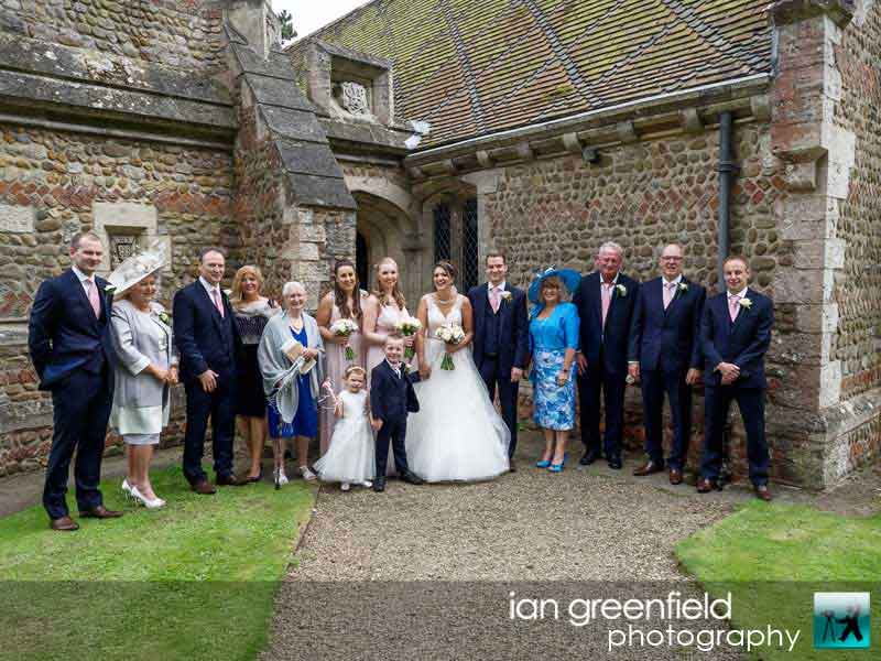 family picture, Wedding Photographs taken at Aldwark Manor, Yorkshire professional wedding photographer, aldwark manor photographer, york, ian greenfield photography