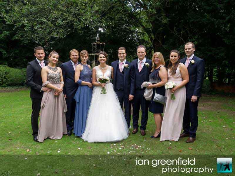family photo, wedding photography, aldwark manor photographer, york, ian greenfield photography