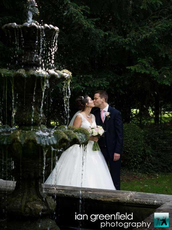 Bride and groom wedding photography, aldwark manor photographer, york, ian greenfield photography