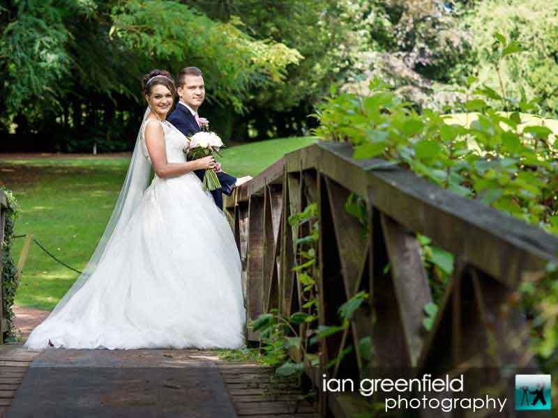 bridge at aldwark manor, wedding photographer for Aldwark Manor, ian greenfield photography
