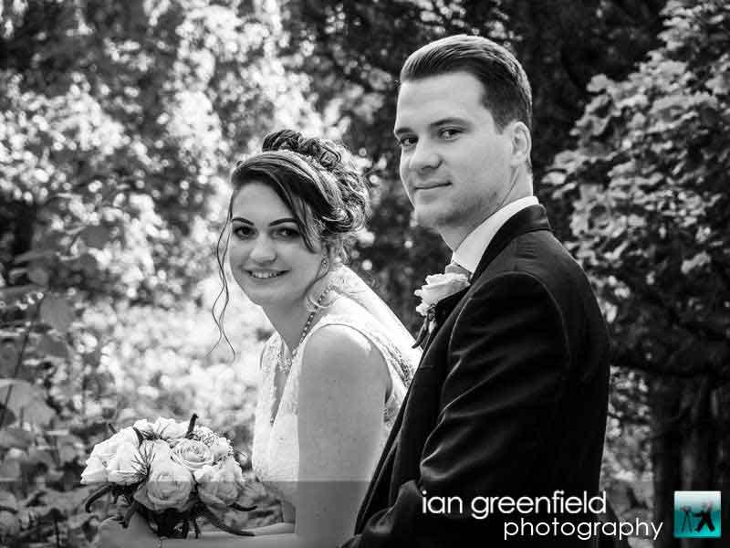summertime weddings, wedding photographer for Aldwark Manor, ian greenfield photography