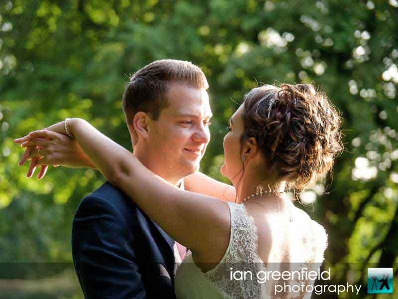 loving smiles wedding photography at Aldwark Manor, Bride and groom wedding photographer, aldwark manor photographer, york, ian greenfield photography