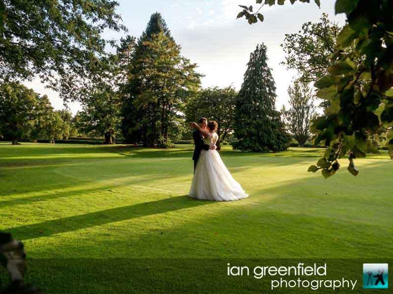 scenic wedding photo, Wedding Photographs taken at Aldwark Manor, Yorkshire professional wedding photographer, aldwark manor photographer, york, ian greenfield photography