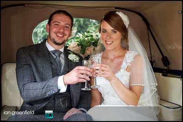 wedding toast hirst priory wedding