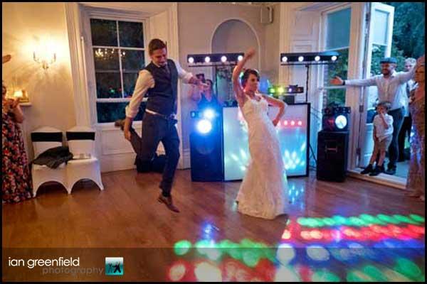 first dance hirst priory wedding