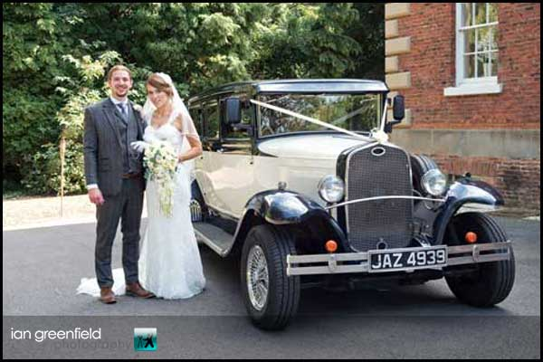 Hirst Priory Wedding of Hannah & Andrew