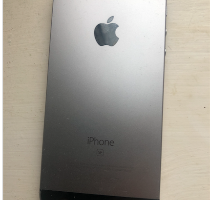 iPhone SE 32GB Water Damaged