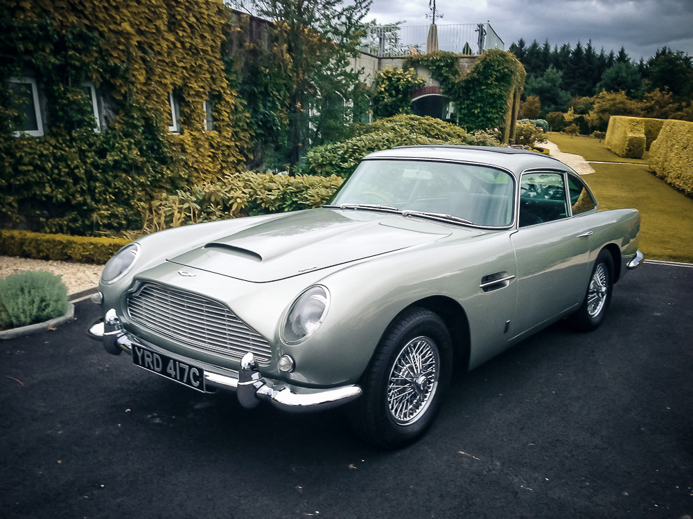 Silverstone Auctions 1965 Aston Martin DB5 saloon
