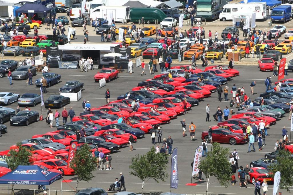 Car Club Displays at the Classic 1