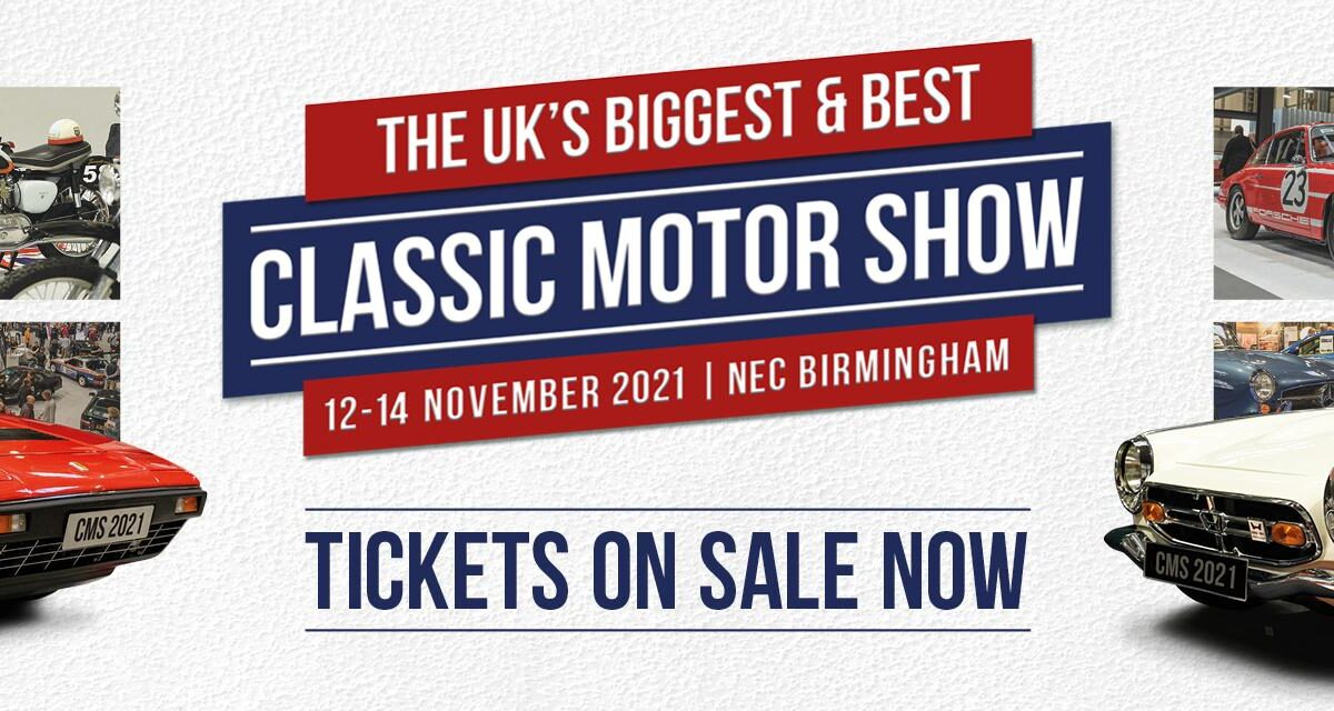 Classic Motor Show 2021 banner