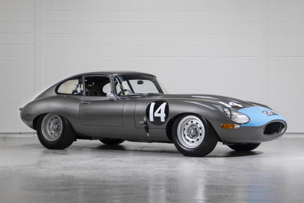 Jaguar E-Type FHC ex-Protheroe