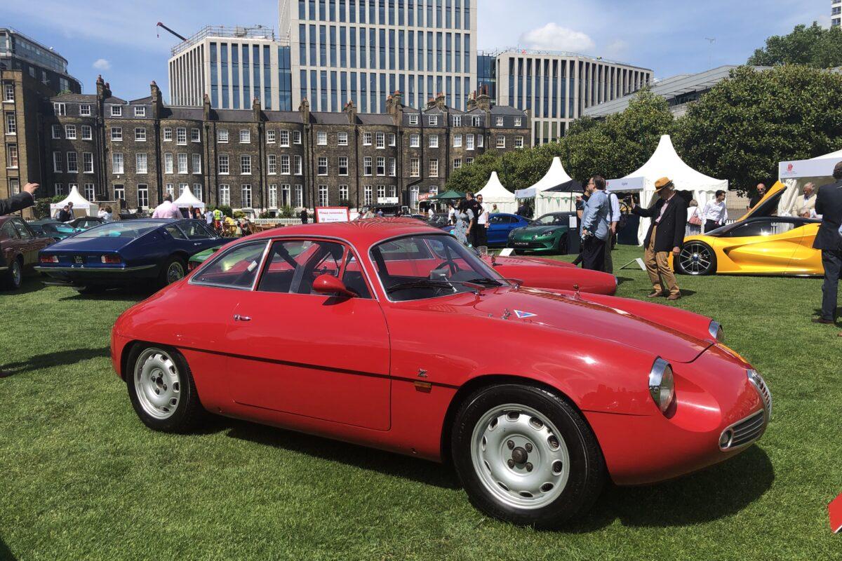 1961 Alfa Romeo Giulietta Spirint Zagato