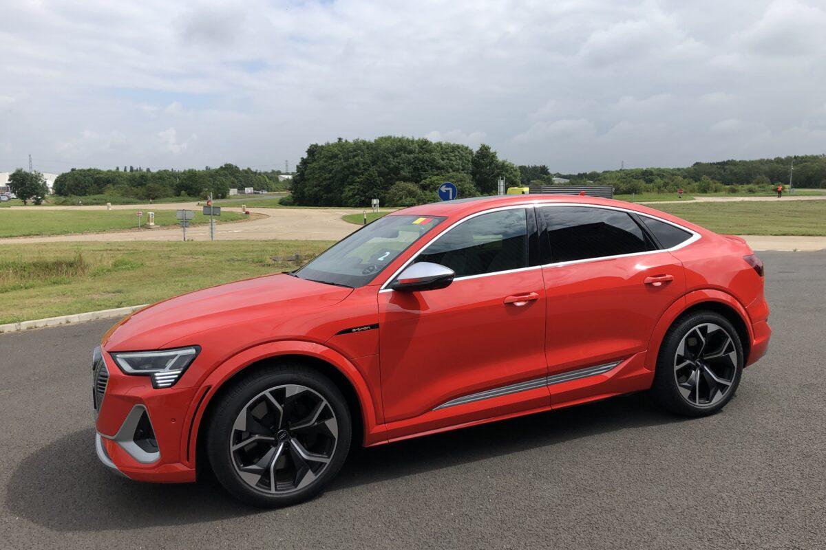 2021 Audi e-tron Sportback S