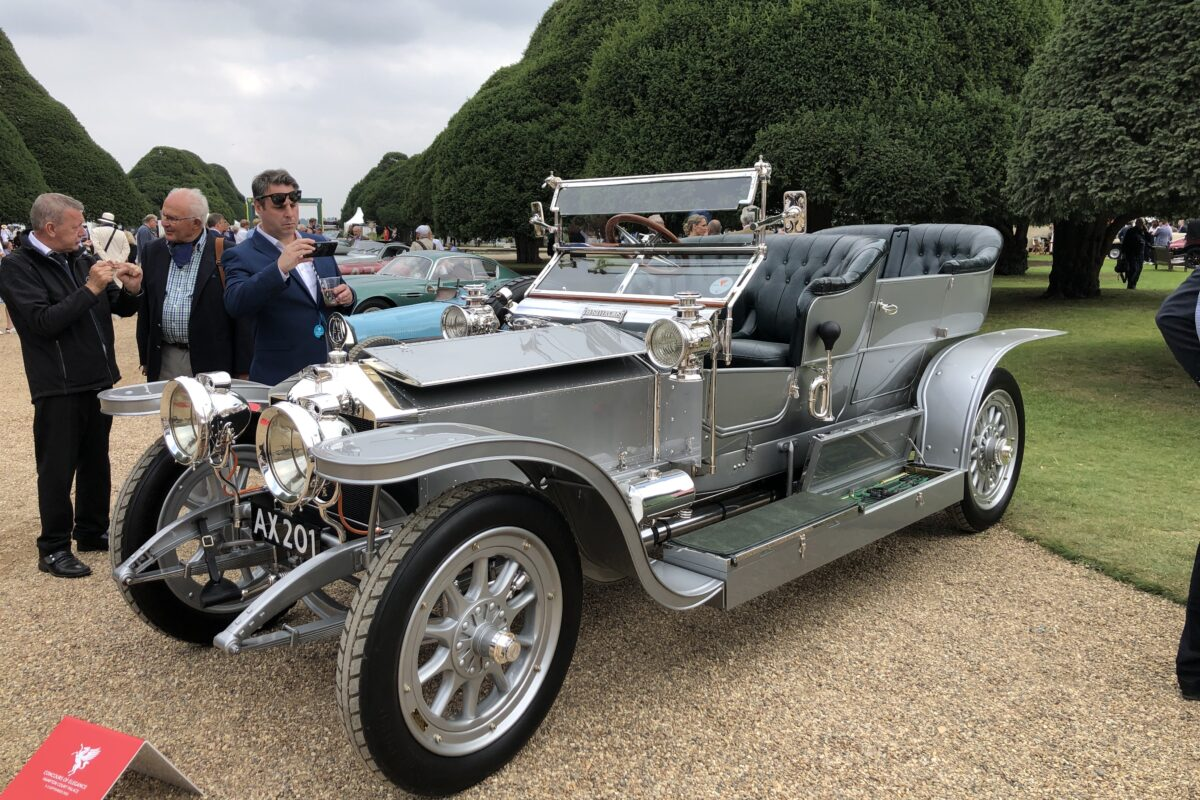 """1907 Rolls-Royce Silver Ghost 40/50 HP """"the Silver Ghost"""""""