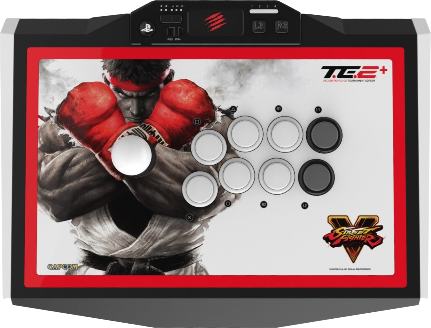 Read more about the article Mad Catz Street Fighter V TE2+ Review