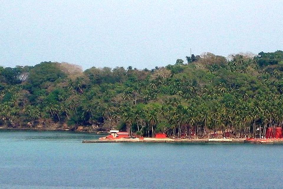 Rose island Andaman