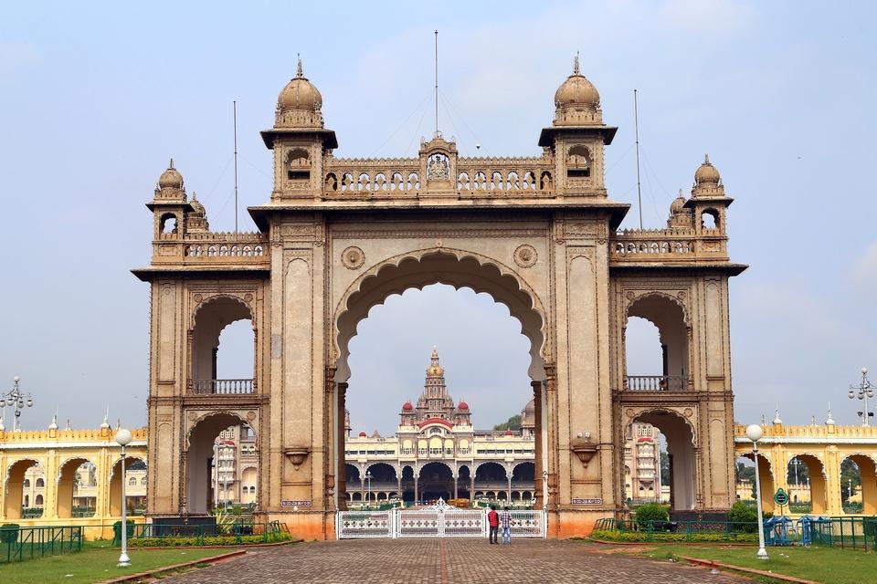 Mysore Palace gate