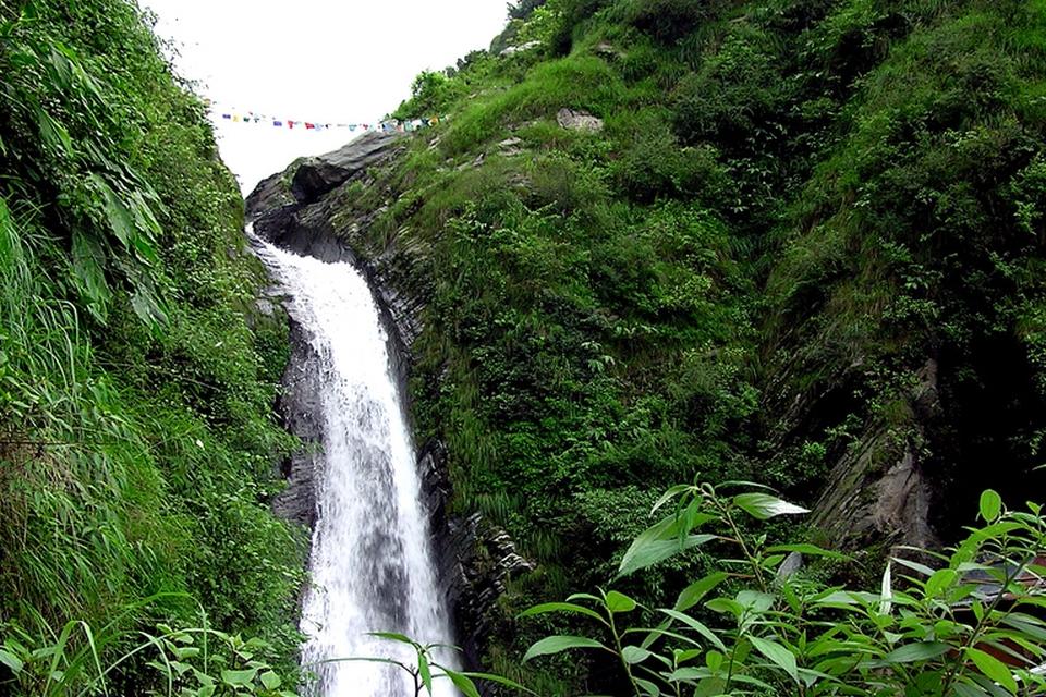 Bhagsu's waterfall, McLeod Ganj, Dharamsala
