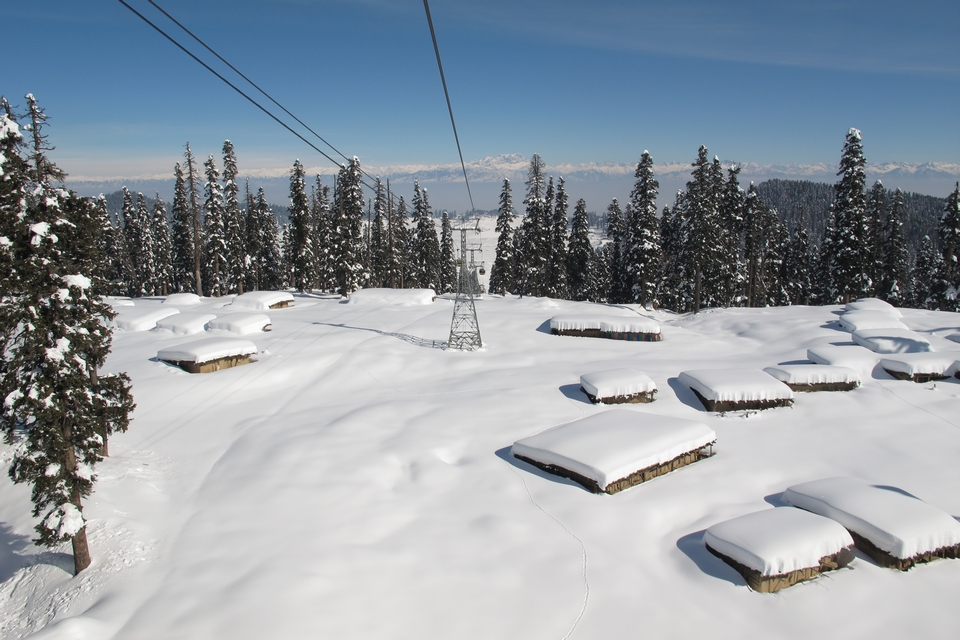 Gulmarg Gondola, cable car