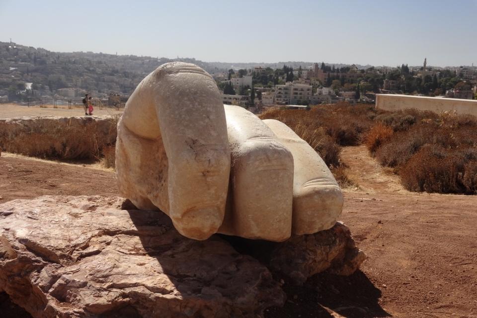 Hand of Hercules, Amman