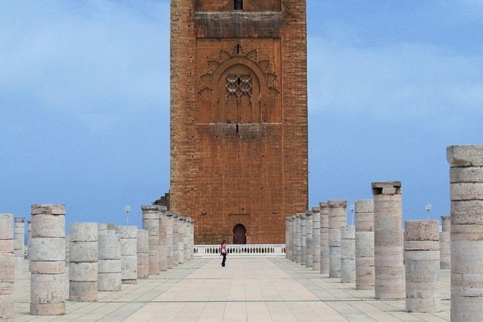 Hassan Tower Rabat Casablanca