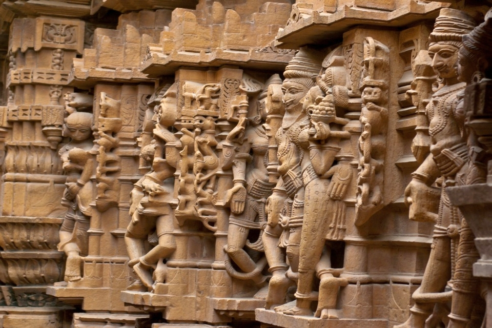 Jaisalmer Jain - carvings