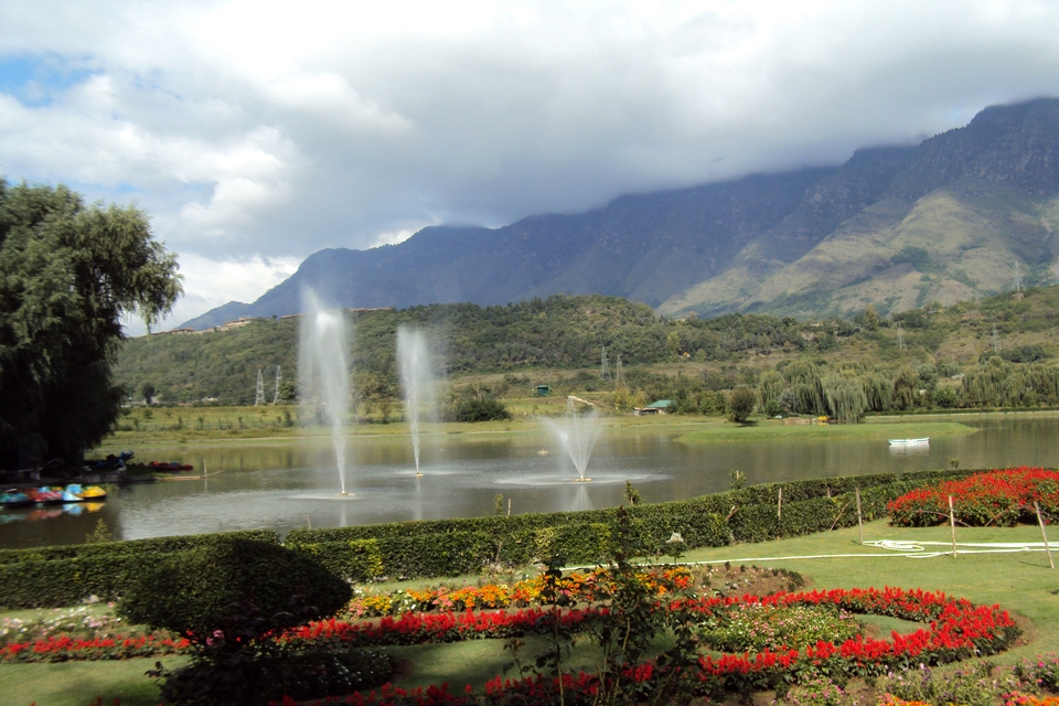 Jawaharlal Nehru Memorial Botanical Gardens, Srinagar