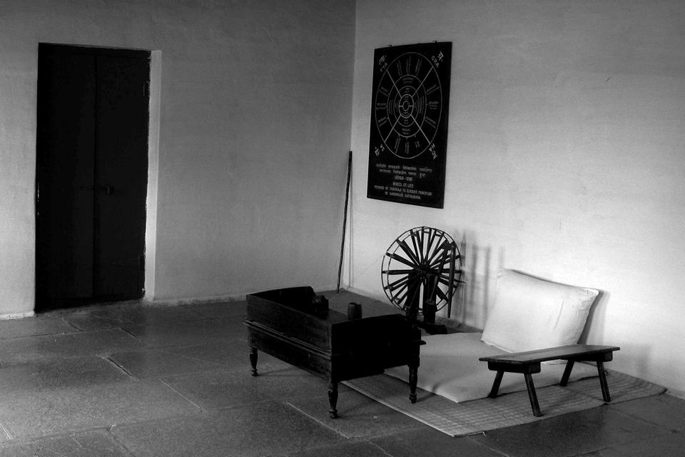 Mahatmas Visitor Room, Sabarmati Ashram