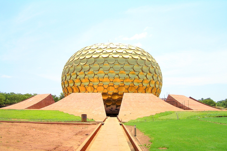 Matrimandir, Pondicherry