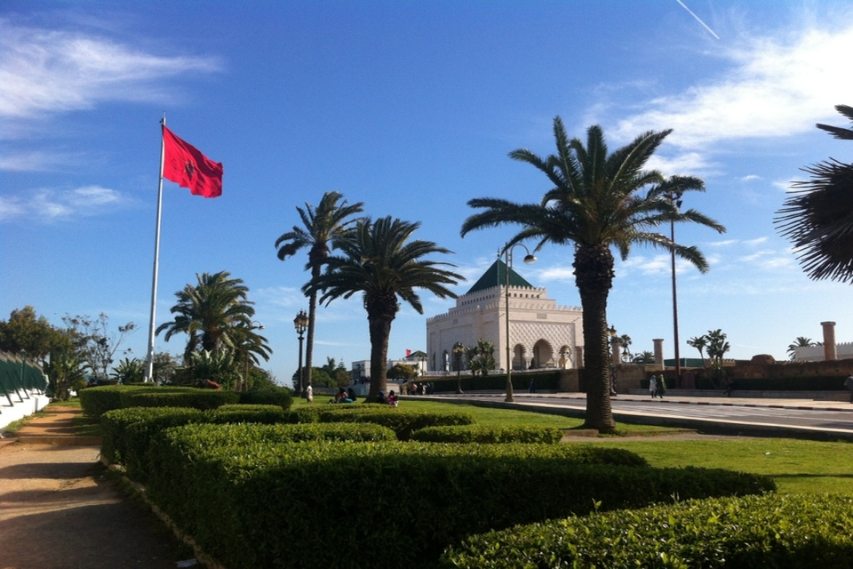 Mausoleum of Mohammed V Rabat Casablanca