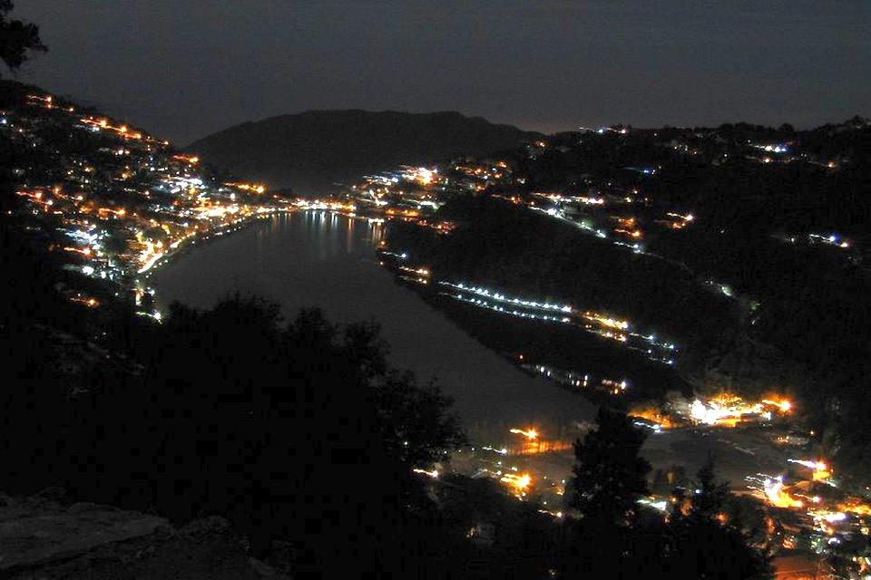 Nainital- Night view