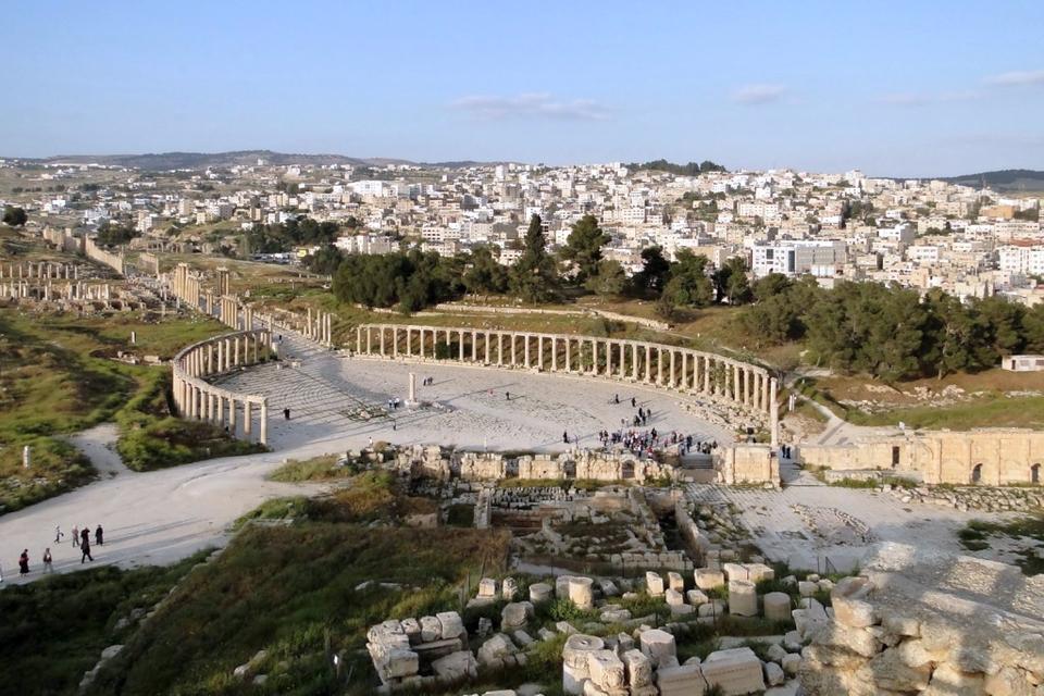 Roman City in Jerash