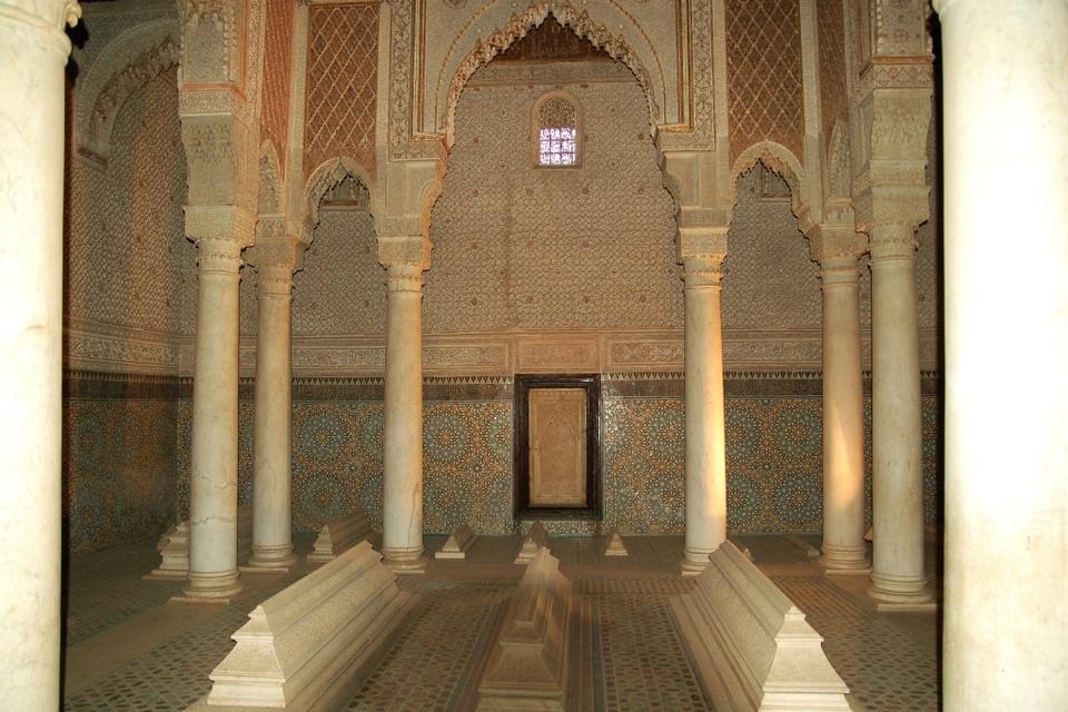 Saadian Tombs Marrakesh