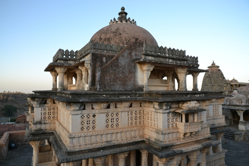Temple in Kumbalgarh fortress