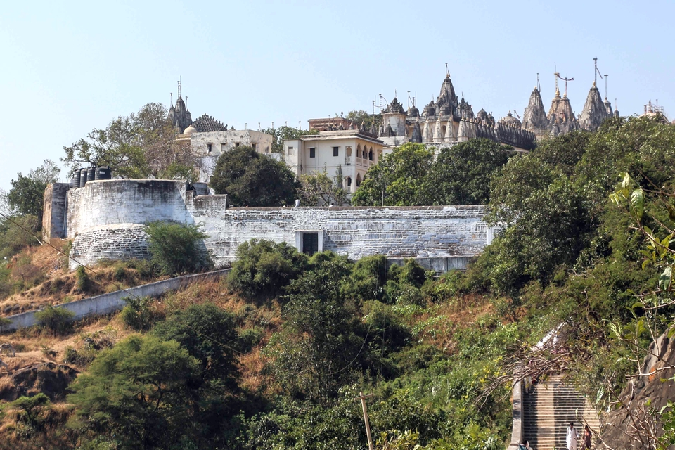 View of Palitana temples