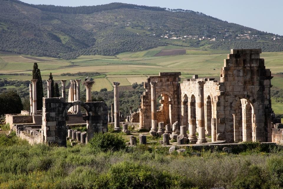 Volubilis ruins Fez